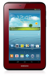 Samsung Galaxy Tab 2 7.0 Garnet Red limited edition announced
