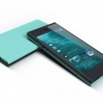 Jolla Sailfish Phone Front and back