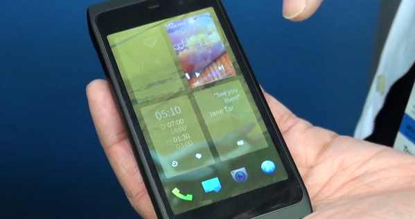 Sailfish OS demo