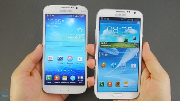 Samsung Galaxy Mega 5.8 vs Galaxy Note 2