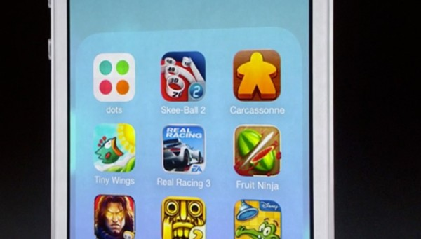 Apple iOS 7 Folders