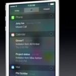 Apple iOS 7 Notification Center 2
