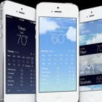 Apple iOS 7 Weather App