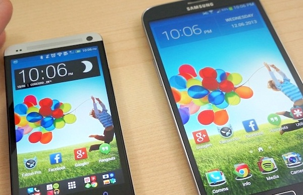 Samsung Galaxy Mega 6.3 vs. HTC One