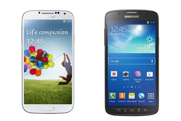 Samsung Galaxy S4 Active vs Galaxy S4