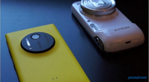 Lumia 1020 vs Galaxy S4 Zoom
