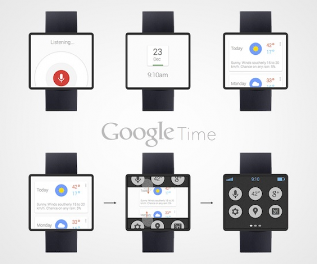 Google Now can make the smart watch tick