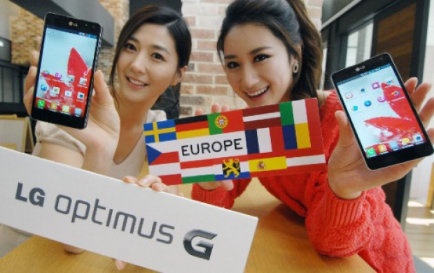 Enhanced LG Optimus G arrives in Europe