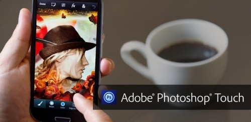 Photoshop Touch for iPhone and Android smartphones released
