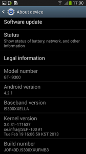Android 4.2.1 Jelly Bean for Samsung Galaxy S III (i9300) Leaked