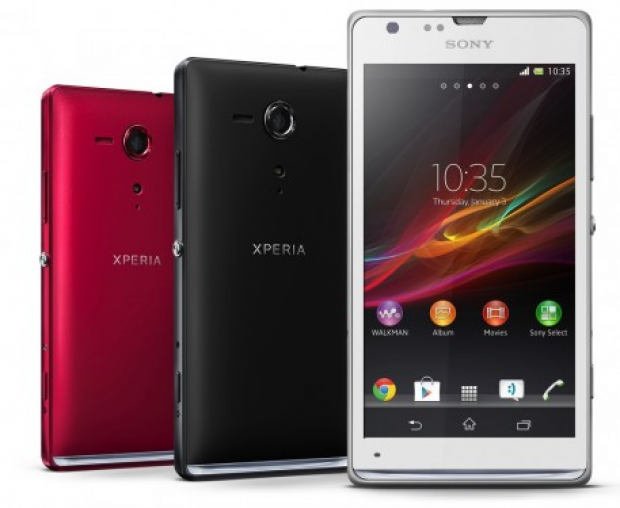 Xperia SP and Xperia L announced by Sony, both equipped with 8MP Exmor RS camera