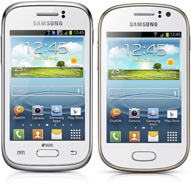 Samsung announces Galaxy Young and Galaxy Fame Android smartphones