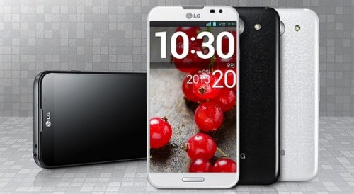 LG officially announced its 5.5-inch Optimus G Pro