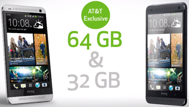AT&T HTC One promo video reveals 64GB model exclusivity