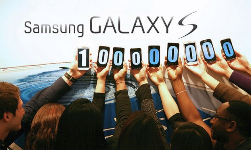 Samsung sold over 100 million Galaxy S devices to date