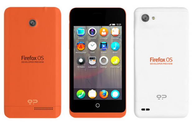 Mozilla reveals two Firefox OS developer preview phones
