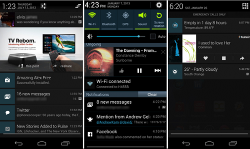 Android 4.1 expanded notifications apps – Video Review