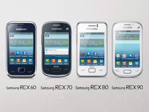 Samsung REX Series feature phones announced