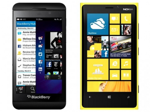 BlackBerry Z10 vs. Nokia Lumia 920 – Video Comparison