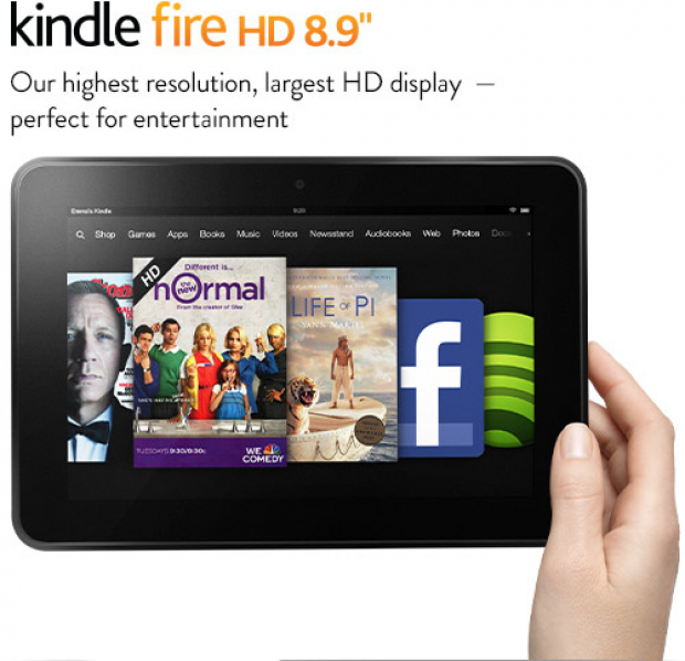 Amazon Kindle Fire HD 8.9 expands availability in Europe and Japan, price drops in US