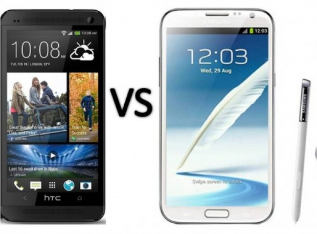 HTC One vs. Samsung Galaxy Note II – Video Comparison