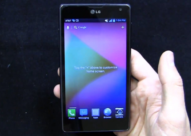 AT&T LG Optimus G maintenance update rolling out over the air
