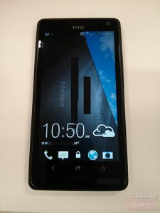 HTC M7 real photo and Sense 5.0 leaked