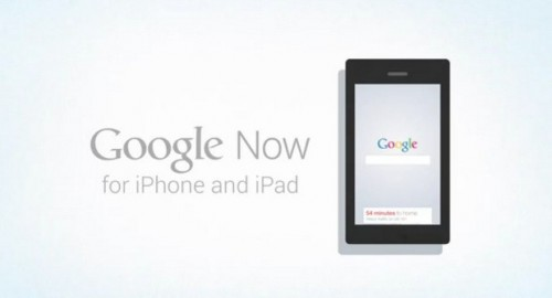 Proof Google Now Coming to iOS?