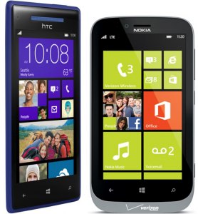HTC Windows Phone 8X vs. Nokia Lumia 822 – Video Comparison