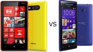 Nokia Lumia 820 vs HTC Windows Phone 8X