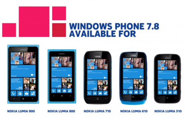 Nokia rolling out Windows Phone 7.8 update